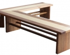 Tasmanian Blackwood Hoop Pine Insert Step and Shoe Rack