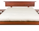 Custom Headboard Sakura bedframe and sidetables in West Australian Jarrah