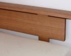 Custom Headboard in Tasmanian Oak