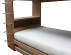 Custom Bunk and Trundle Bed in Tasmanian Oak