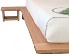 Sakura Bedframe and Sidetables in Tasmanian Oak