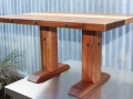 Custom Designed low dining table in Tasmanian Blackwood